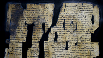 Dead Sea Scroll 28 from Qumran