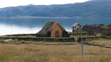 Reconstructed Church at Brattahlíð, Greenland