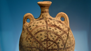 Pilgrim Flask from Amman