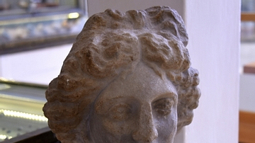 Head of Goddess Artemis