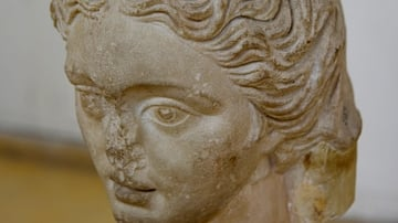 Head of the Goddess Tyche