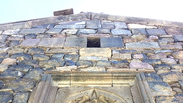 Architectural Detail at Armenia's Zorats Church