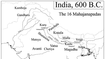 The 16 Mahajanapadas, Including Magadha