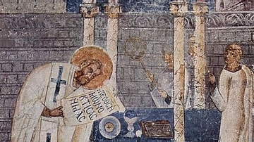 Fresco of Basil the Great