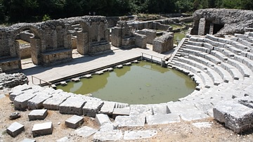 Stage, Theatre of Butrint