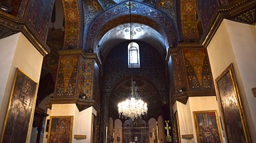 Pillars and Arches at Etchmiadzin Cathedral