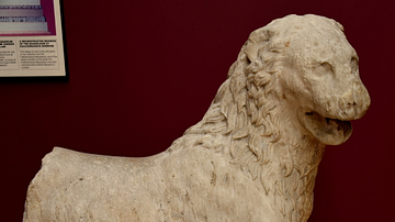 Statue of a Lion from Halicarnassus