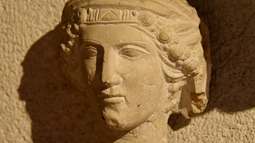 Head of a Woman from Palmyra