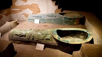 Glazed Sarcophagi from Nippur