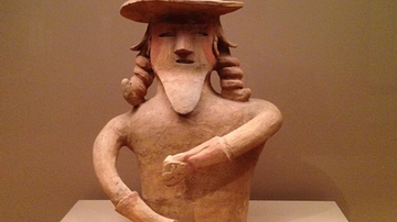 Haniwa in the Form of a Man
