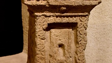 Egyptian-Type Votive Altar from Sidon