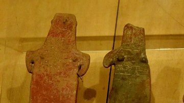 Plank-Shaped Statuettes from Cyprus
