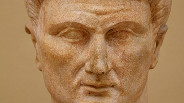 Head of Emperor Tiberius from Çemberlitaş