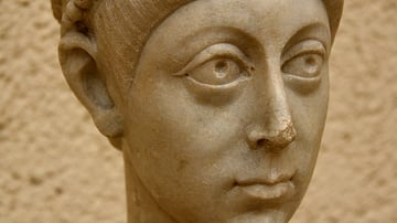 Head of Emperor Arcadius