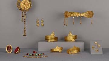 Collection of Ptolemaic Jewellery