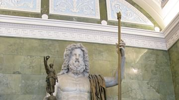 Hermitage Replica of the Statue of Zeus at Olympia