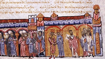 The Wedding of Empress Zoe and Michael IV the Paphlagonian