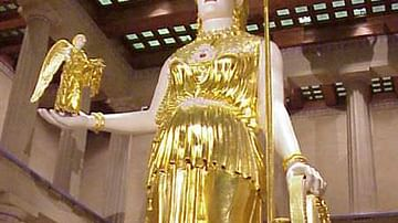 Athena Parthenos by Phidias