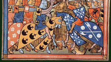 Second Crusade Battle Scene