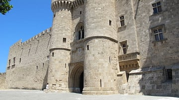 Main Entrance, Palace of the Masters, Rhodes