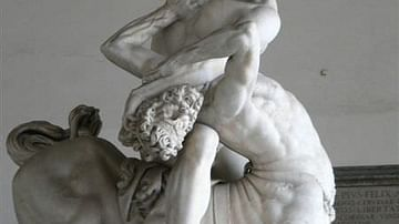 Hercules Fighting the Centaur Nessos