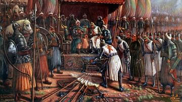 Latin Surrender to Saladin, 1187 CE