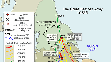 Great Viking Army in England, 865-878 CE