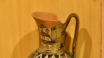 Pottery jug from Cyprus