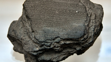 The Deeds of Anitta Tablet from Hattusa