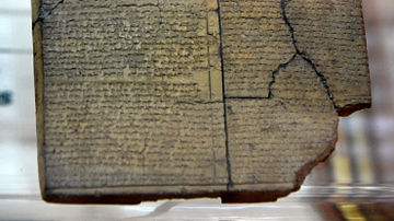 The Tablet of the Apology of Hattusilis III from Hattusa