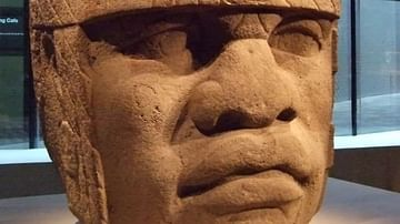 Olmec Colossal Head