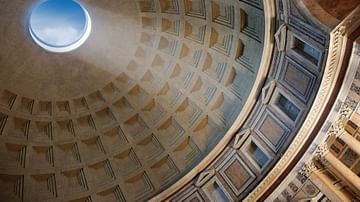 Internal Dome of Pantheon
