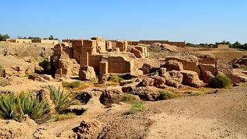 Ruins of the North Palace of Nebuchadnezzar II
