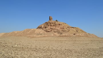 Ruins of the Ziggurat and Temple of Nabu at Borsippa