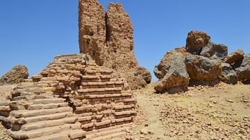 The Top of the Ziggurat and Temple of Nabu at Borsippa