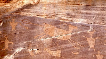 Hunting Petroglyphs, Canyon de Chelly