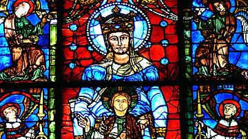 Blue Virgin Window, Chartres Cathedral