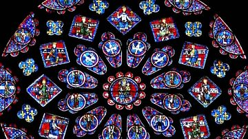 The Stained Glass Windows of Chartres Cathedral