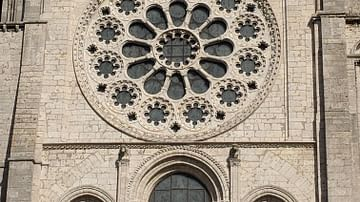 West Rose Window at Chartres Cathedral