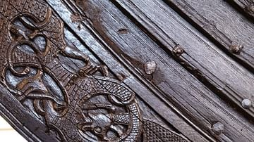 Oseberg Ship Decoration - Detail