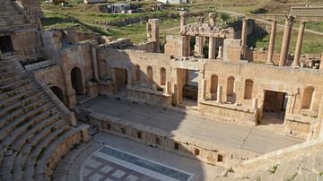 The North Theatre, Jerash