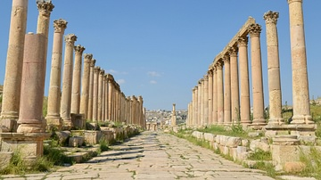 Colonnaded Street, Jerash