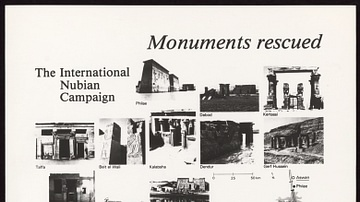 The International Nubian Campaign - Monuments Rescued