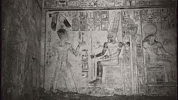 Bas-Relief Inscriptions at Abu Simbel Great Temple