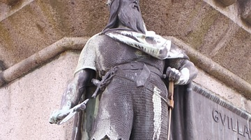 Statue of Rollo of Normandy, Falaise