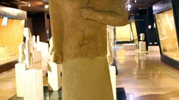 Statue of a Woman from Cyprus