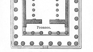 Plan of the Parthenon