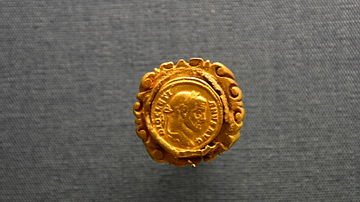 Gold Ring and Coin of Diocletian