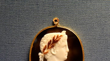 Cameo of Emperor Claudius