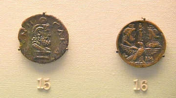 Two Bronze Drachms of Hadrian